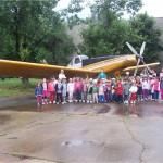 La Muzeul Aviatiei